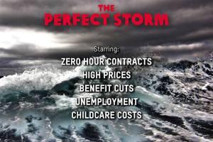 Oxfam storm